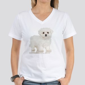 jigsaw005 Women's V-Neck T-Shirt